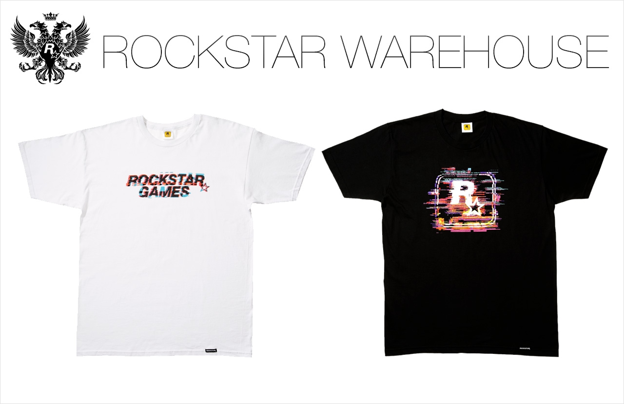 rockstar noise tees now available at the warehouse get 30 off all