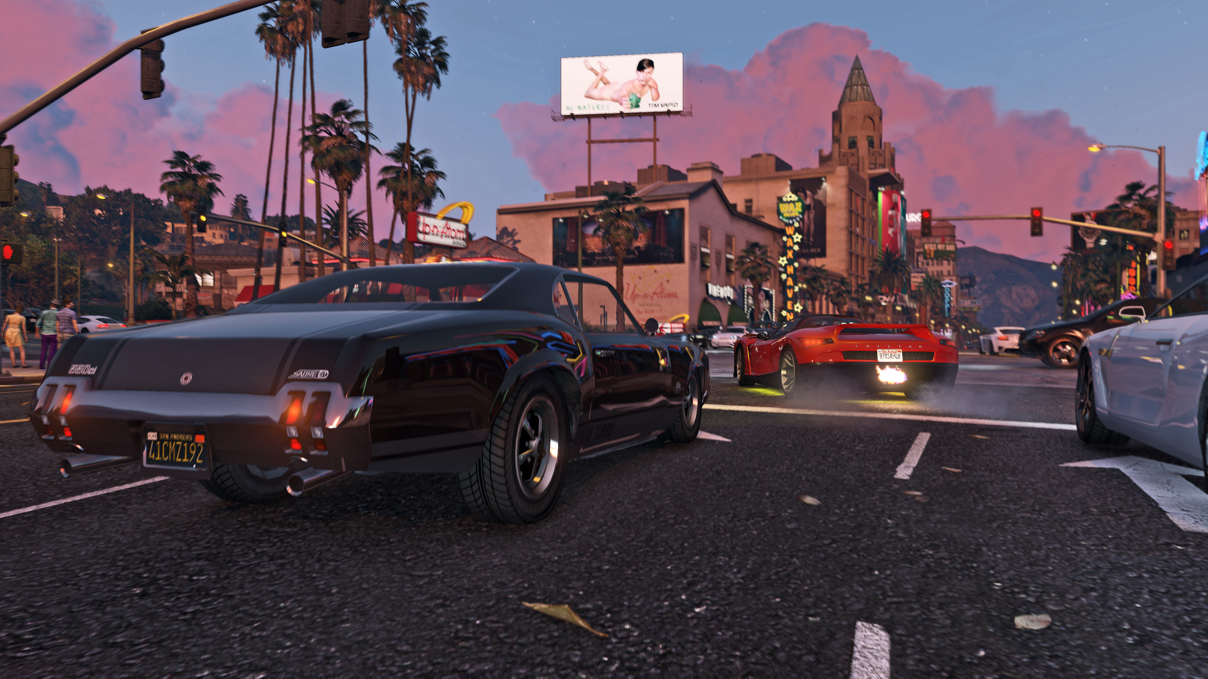 Screens from Grand Theft Auto V for PC - Rockstar Games