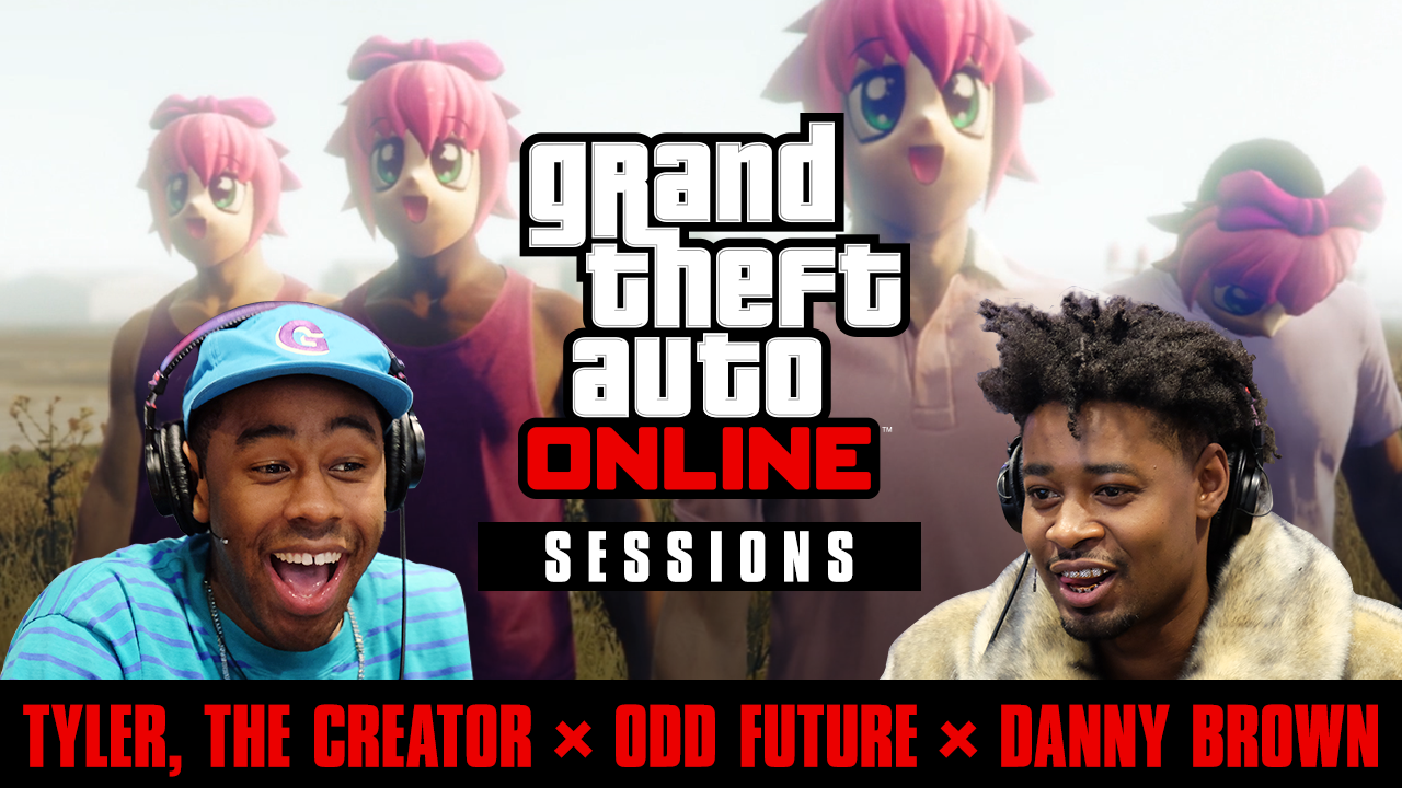 4238c5812 If you missed this past Tuesday s raucous livestream featuring Grand Theft  Auto V soundtrack s Tyler the Creator and Danny Brown – you can now check  out the ...