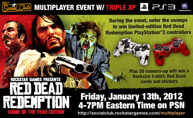 Win Limited-Edition Controllers in the Red Dead Redemption ...