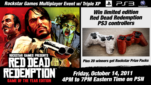 Win Custom Red Dead Controllers in the Red Dead Redemption