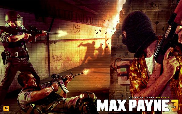 Max Payne 3 Original Artwork Local Justice Rockstar Games