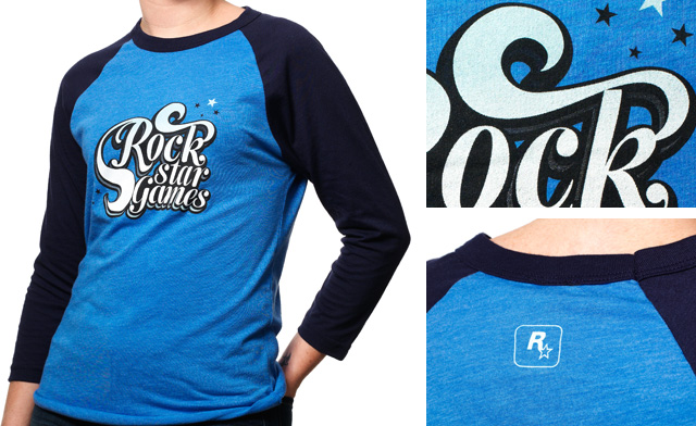 35bdc8f5 Evocative of the highest of times - this take on the traditional baseball  raglan is a unisex-style, soft, and lightweight Lake Blue / Navy tee.