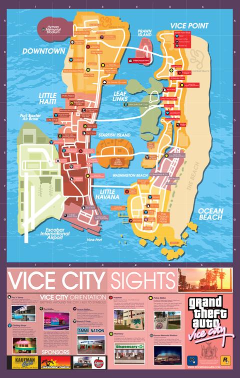 Download High Res Maps for GTA Trilogy Titles - Rockstar Games