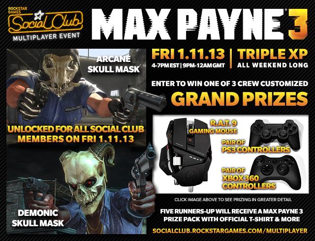 Win Custom Crew Controllers, Unlock Skull Masks & Earn