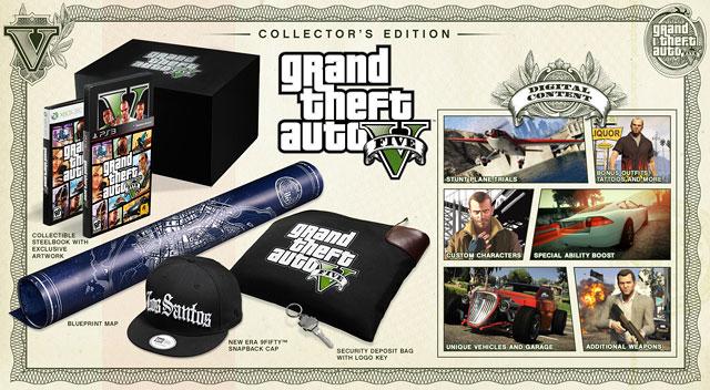 Grand Theft Auto V Pre-Order inhoud