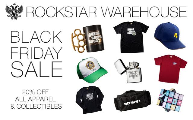 The Rockstar Warehouse Black Friday Sale Rockstar Games