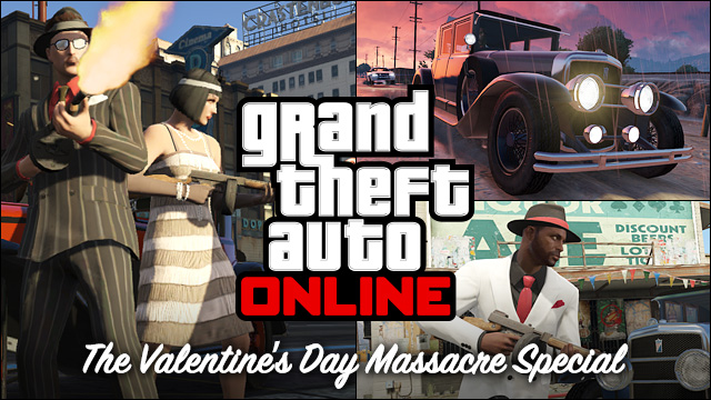 Coming This Friday: The GTA Online Valentineu0027s Day Massacre Special