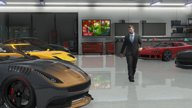 Grand Theft Auto Online Spring Updates   Rockstar Games Rockstar Games Running out of space to store all your vehicles or just looking for another place to chill  You     ll soon be able to own multiple properties in GTA Online as