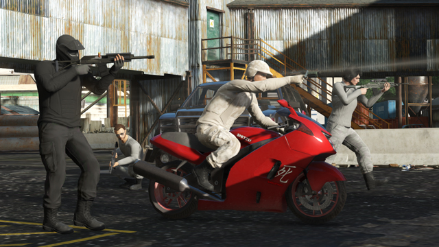The Last Team Standing Update for GTA Online Now Available