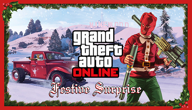 Gta 5 Christmas Dlc Ps3 2020 The GTA Online Festive Surprise   Rockstar Games