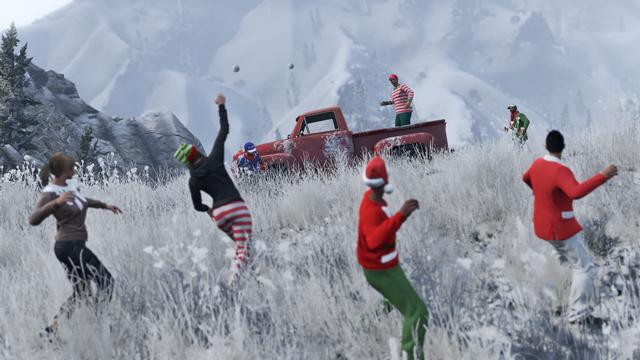 The GTA Online Festive Surprise - Rockstar Games