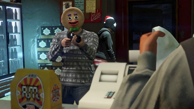 Gta 5 Online Christmas Masks.The Gta Online Festive Surprise Grand Theft Auto V