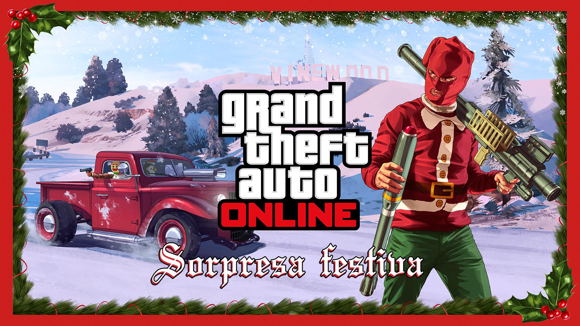 La Sorpresa Festiva De Gta Online Rockstar Games