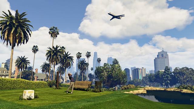 (GTA) Grand Theft Auto V Game For PC