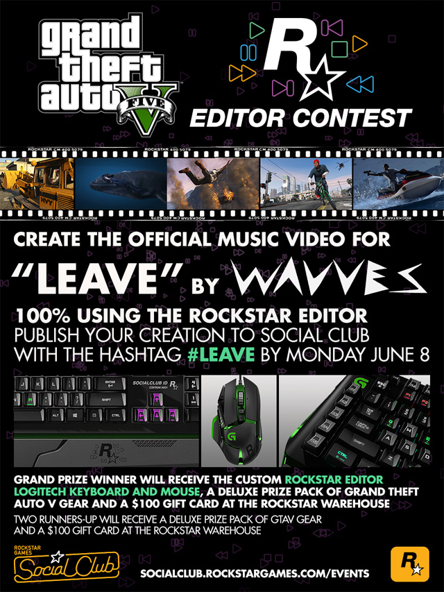 GTA 5 PC video editor contest