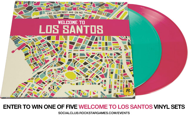Welcome to Los Santos Vinyl Coming June 30th: Enter Now at