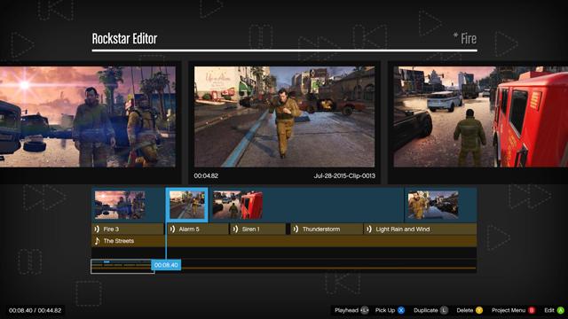 GTA 5 video editor