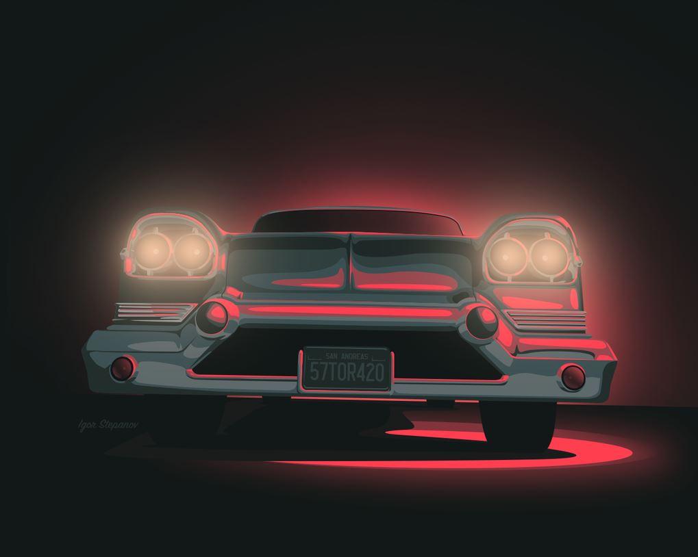 Fan Art Gallery: Art Deco GTA Cars, GTA Online Mask Makeup ...  Fan Art Gallery...