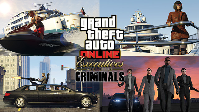 GTA Online: Executives and Other Criminals Now Available - Rockstar