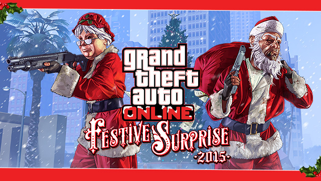 All Gta Christmas Masks.The Gta Online Festive Surprise 2015 Rockstar Games
