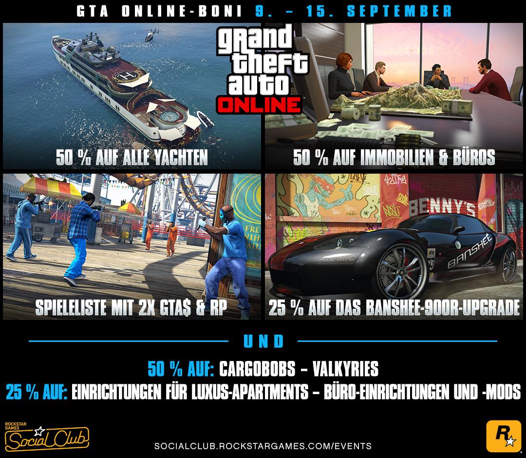 Superyachten kaufen  GTA Online-Boni in dieser Woche: 50 % Rabatt auf alle Yachten ...