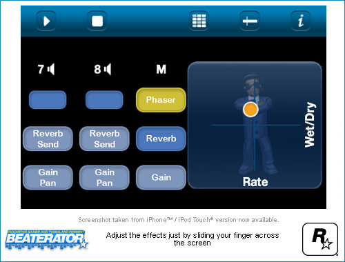 Beaterator for iPhone & iPod Touch: Screenshots - Rockstar Games