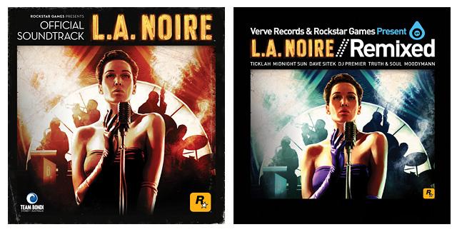 The L A  Noire Official Soundtrack & Verve Remixed Albums
