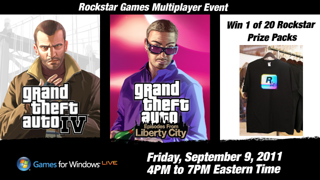 Rockstar games multiplayer event on gta iv pc december 2 2011 ohio disassociated persons casino