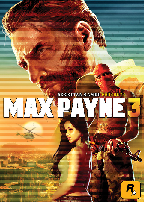 The Official Max Payne 3 Cover Art Rockstar Games