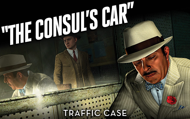 L A Noire The Consul S Car Traffic Bonus Case Now Available For Worldwide On Playstation Network