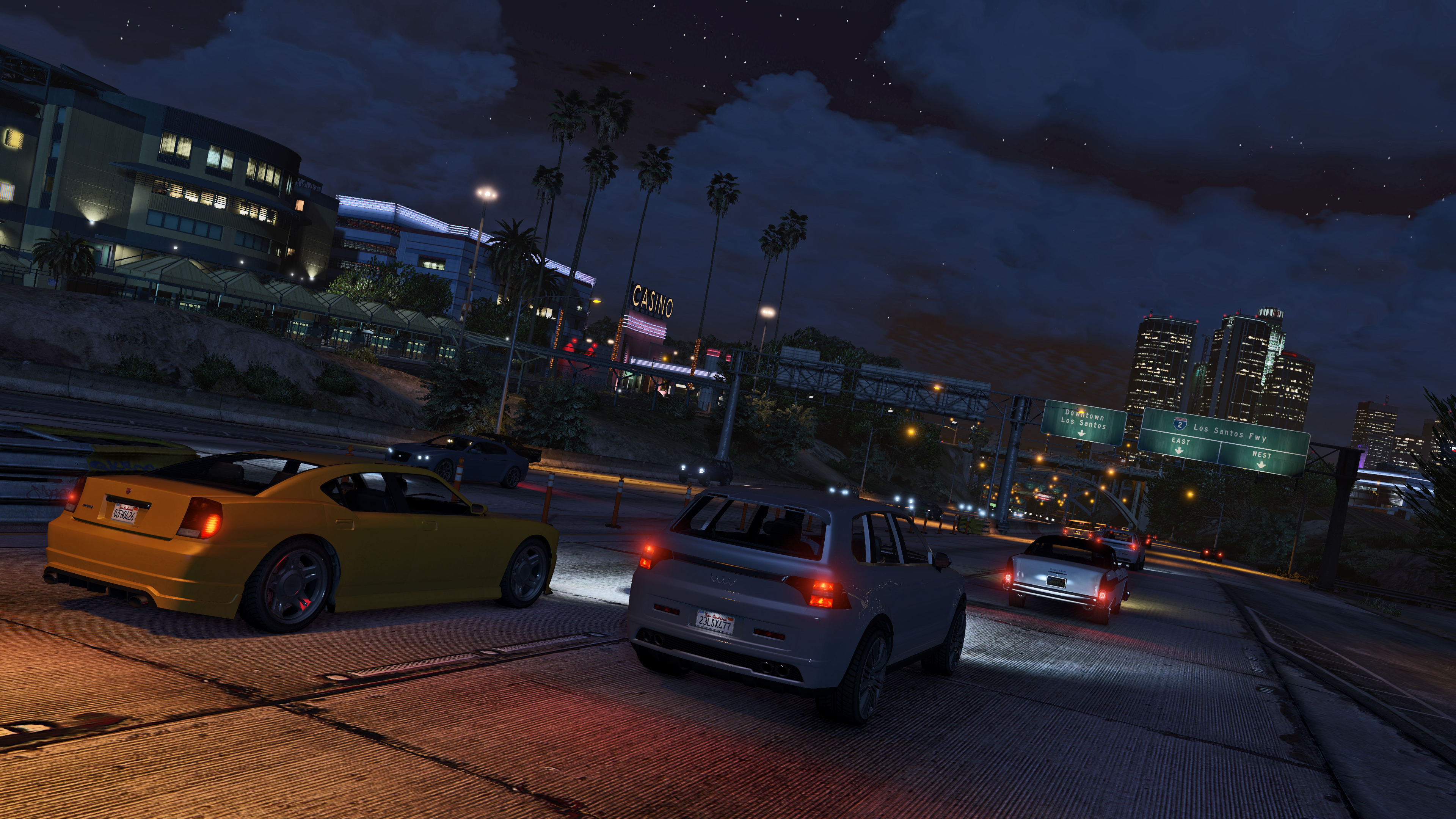 GTAV PC: New Release Date, First Screens and System Specs - Rockstar