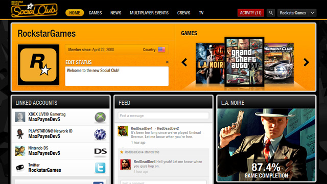Introducing the All-New Rockstar Games Social Club