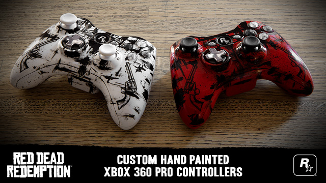 Win Limited-Edition Red Dead Controllers in the Red Dead Redemption