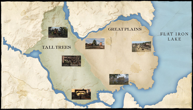 Red Dead Us Map.Red Dead Redemption Website Update Explore West Elizabeth The