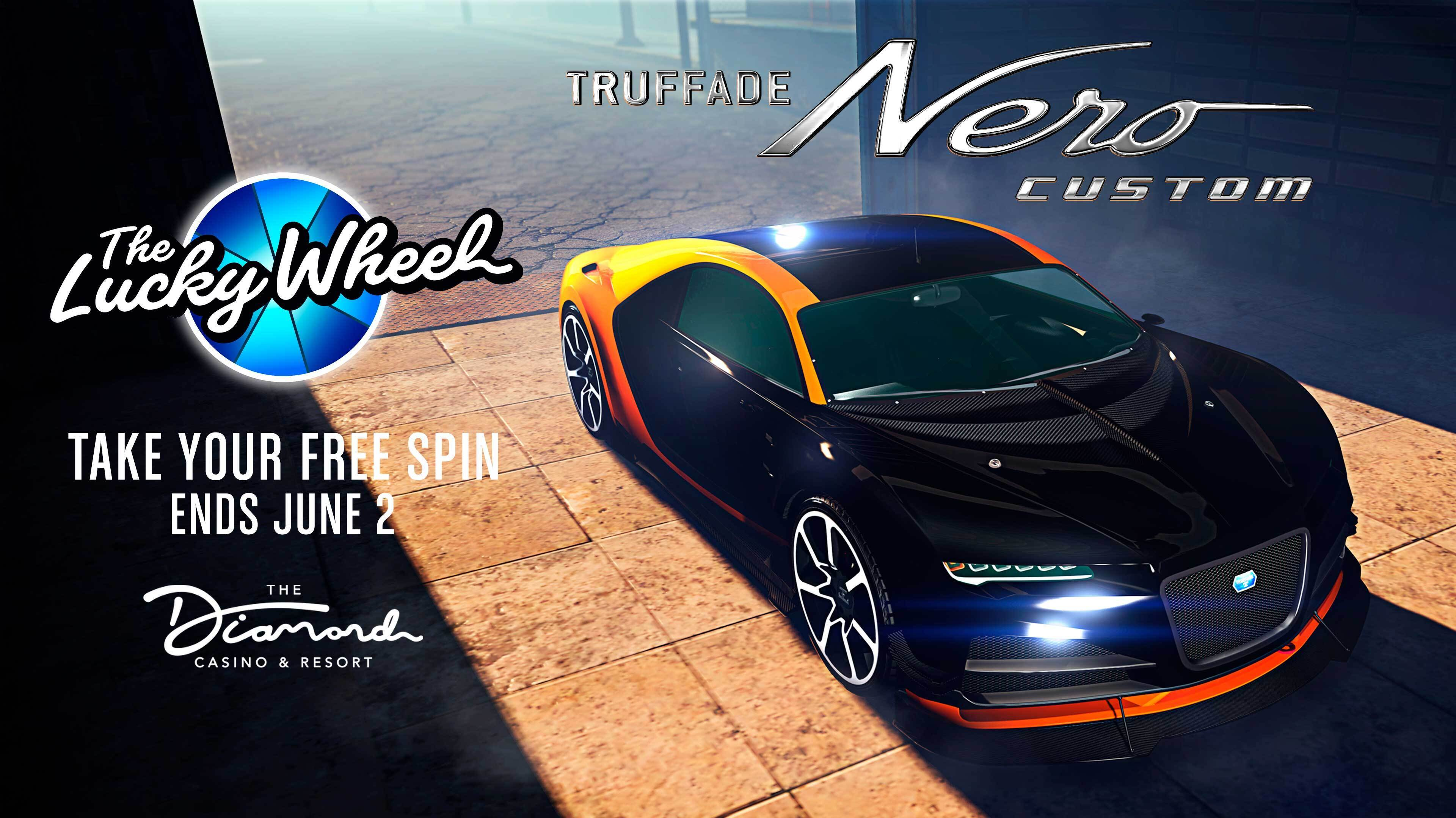 La Nero Custom est sur le podium du casino de GTAOnline